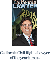 California civil rights lawyer of the year