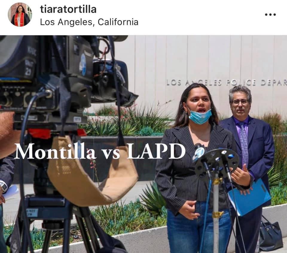 injured protester lawsuit press conference
